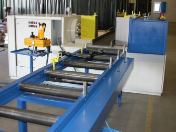 Straightening and bending machine EZ 160 with tactile measuring of straightening results