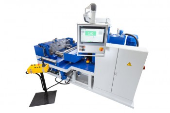 Horizontal hydraulic Bending and straightening press 225 t (2,250 kN) for rails and sections